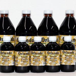 paquetes de extracto de vainilla